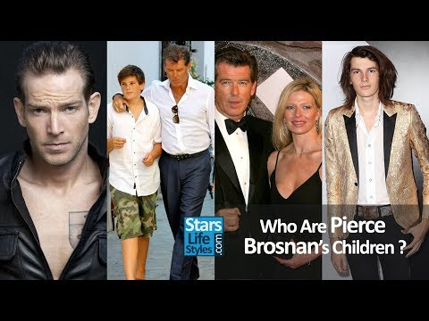 Who Are Pierce Brosnan's Children ? [1 Daughter And 4 Sons]