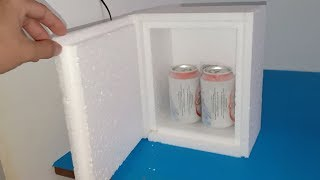 DIY refrigerator , How to make mini refrigerator at home using 72W peltier