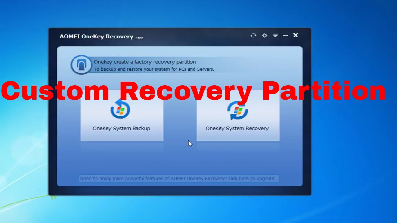aomei onekey recovery 1.6.2 free