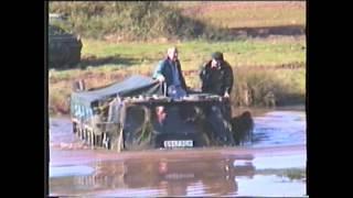 Alvis Stalwart FV620 Swimming / Playing in Mud Shobdon Sept 1993