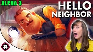 HUGE NEW UPDATE! ►Hello Neighbor Alpha 3 Gameplay PC◄ Stealth Horror Game