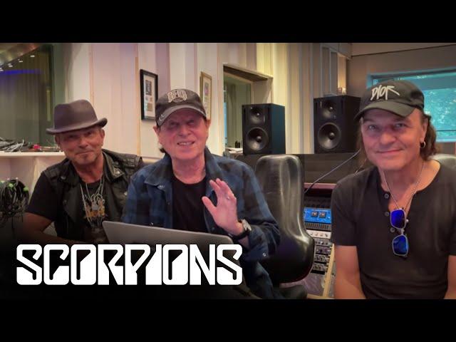 Грядёт новый альбом Scorpions