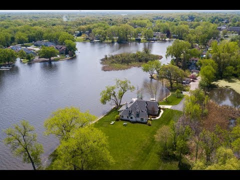 Stunning Ingleside, IL Lakefront Home