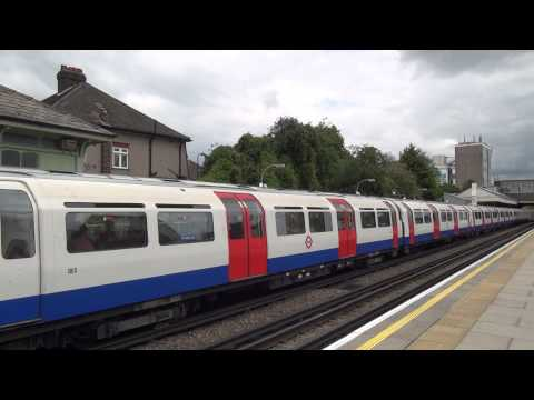 London Underground - Piccadilly Line 1973TS trains at Boston Manor HD