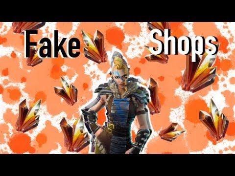 (Fortnite) I Lost Over 1k Sunbeam In FAKE Trading Shops