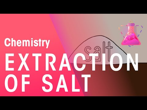 Extraction of Salt | Chemistry for All | The Fuse School - YouTube