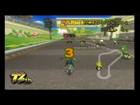 mario kart wii luigi circuit youtube. Black Bedroom Furniture Sets. Home Design Ideas