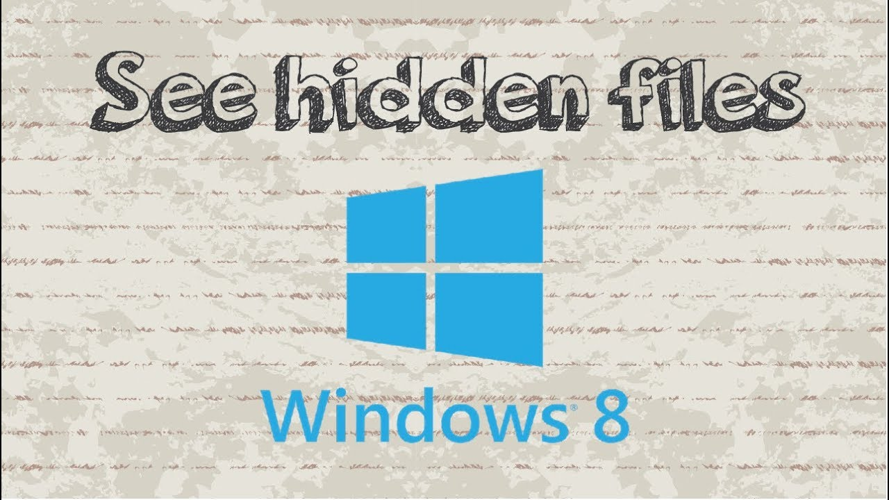 how to change file to hidden in windows 8