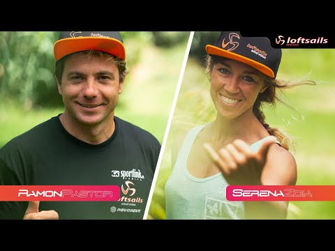 Loftsails Team Rider / Interview / Ramon Pastor ESP-72 & Serena Zoia ITA-17
