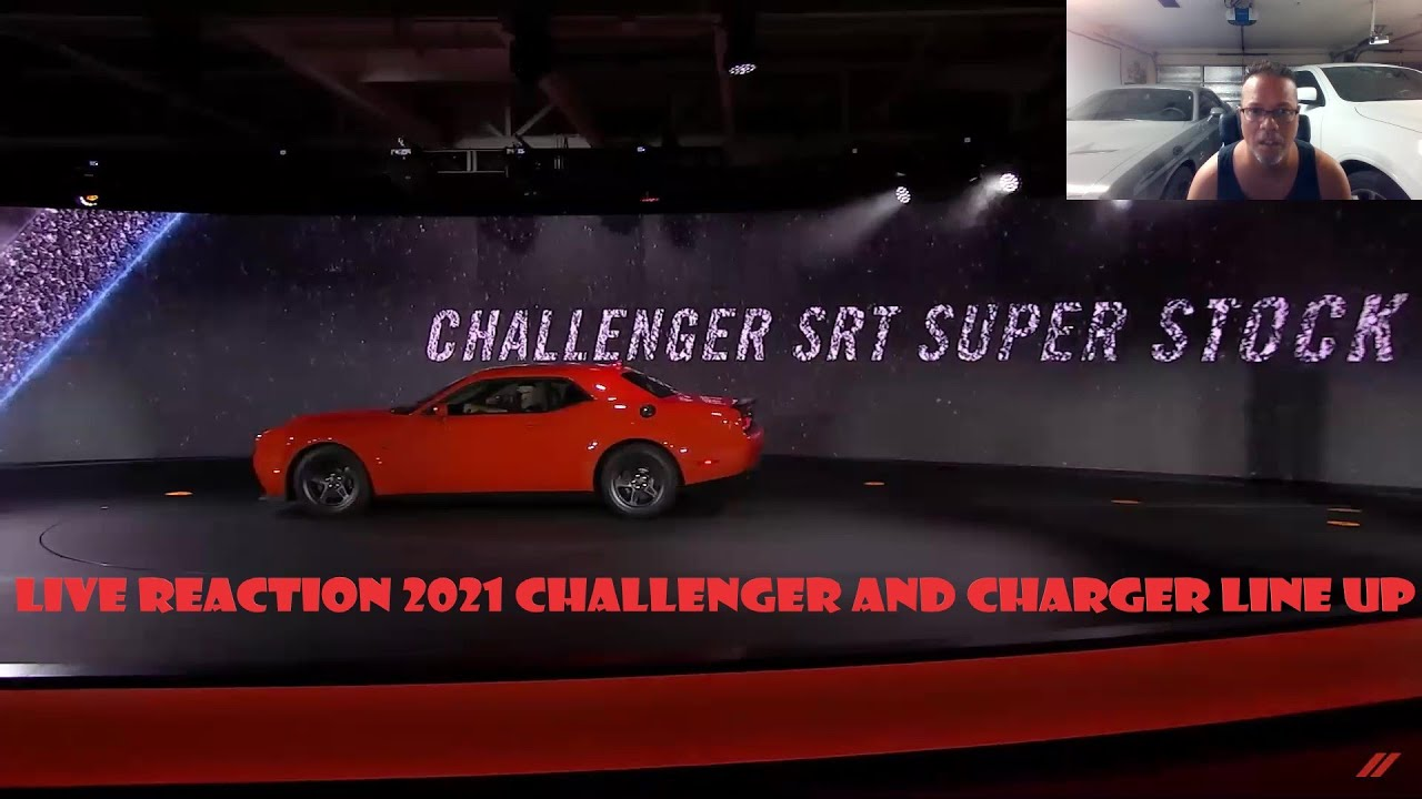 2021 Dodge Challenger and Charger (LIVE REACTION)