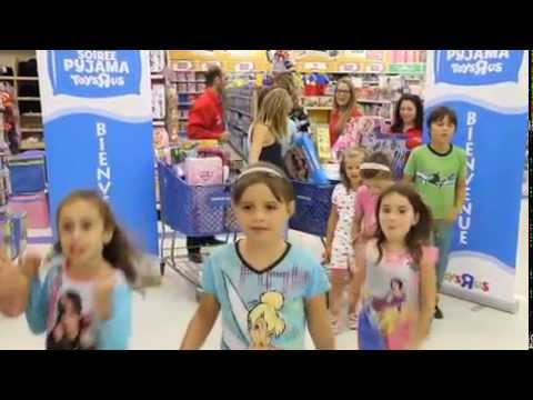 Pyjama party chez Toys R Us | Montreal.TV
