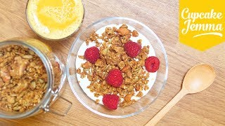 How to Make Granola Two Ways: Delicious and Low-Sugar | Cupcake Jemma