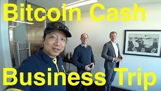 Bitcoin Cash Business Trip to Sydney