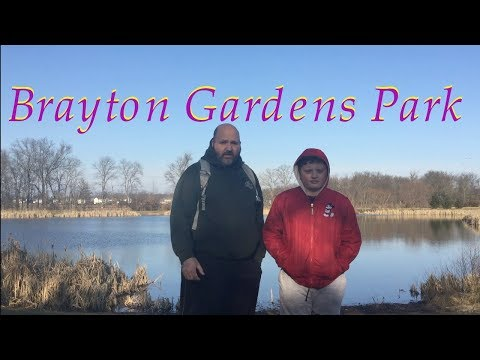 Geocaching at Brayton Gardens Park