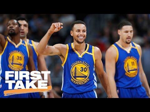 Stephen A. Smith Gives The NBA Season A 'D' Grade   First Take   April 13, 2017