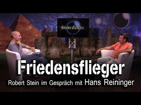 Friedensflieger - Hans Reininger bei SteinZeit