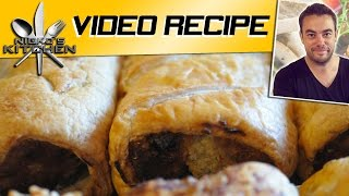 How To Make Sausage Rolls - Video Recipe