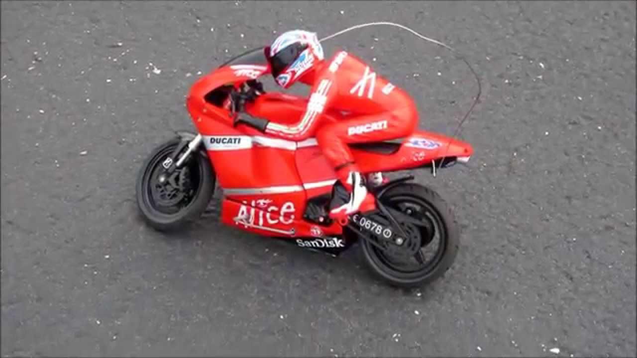 RC Ducati Remote Control Toy Bike Motorcycle Not Nikko ...