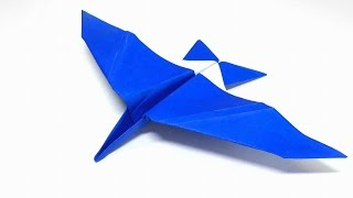 Origami Tutoria l- How to fold an Easy Origami Plane