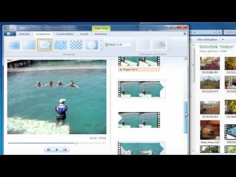 Filme erstellen mit Windows Live Movie Maker