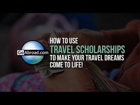 How to Use Travel Scholarships 💸