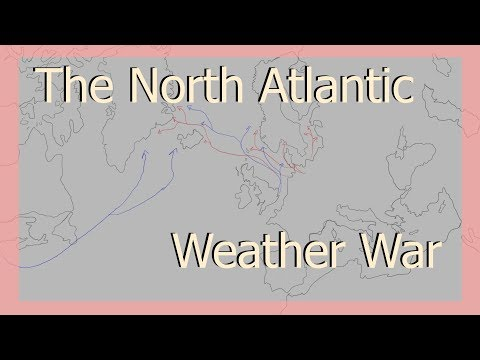 What was The North Atlantic Weather War?