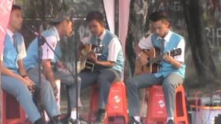 "SMANET GLORY BOYS BAND""Kun Anta""(Anan,Fatra,Rama,DirgaUcok)T-LOOP"