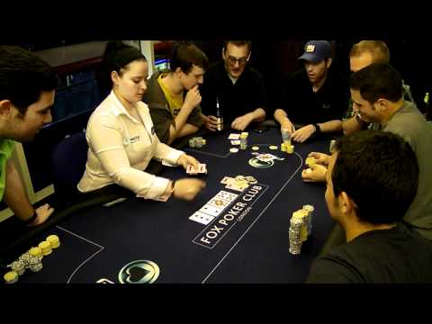 A lucky Fox Poker Club player knocks out Barney Boatman