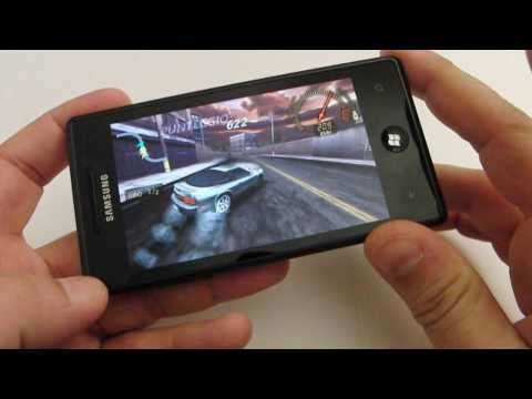 Giochi per Windows phone 7 testati su Samsung Omnia 7 by HDblog