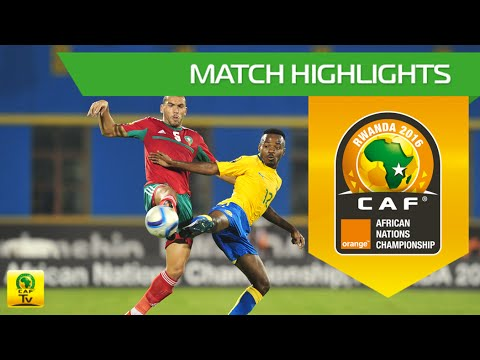 Gabon vs Morocco   Orange African Nations Championship, Rwanda 2016