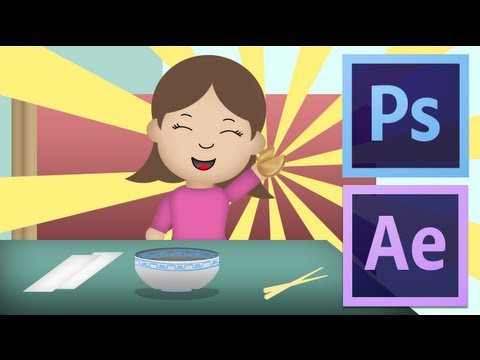 Animating In Photoshop And After Effects