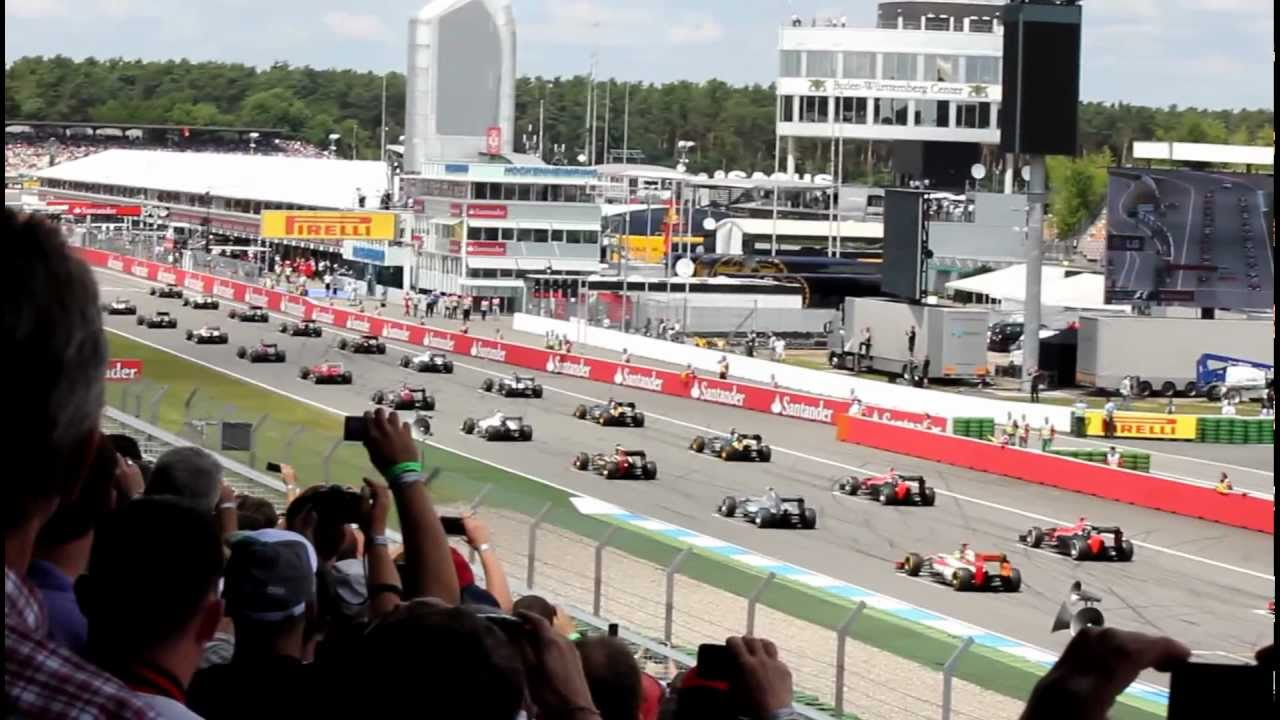 formel 1 hockenheimring 2012 start youtube. Black Bedroom Furniture Sets. Home Design Ideas
