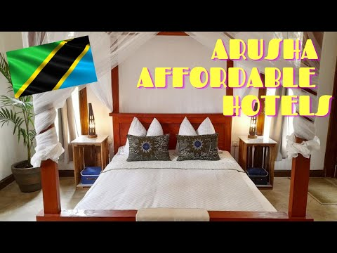 TOP 5 Affordable Hotels In Arusha Tanzania (East Africa)# Arusha