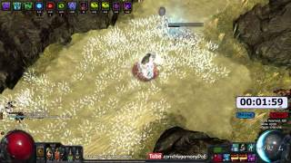 Path of Exile Act 4: Gorge Clear Speed with Arctic Breath!! EB/MoM/ZO