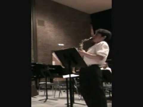 Parker's Mood (Charlie Parker) - 5.5.2010 Cedarbrook Middle School Jazz Duet