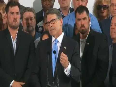 Rick Perry Announces 2016 Presidential Bid