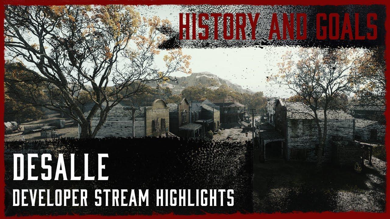 DeSalle - Goals And History I Developer Live Stream Highlight