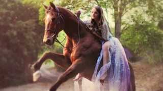 Fashion Photo shoot with model and her horse, By ArinaB Photography