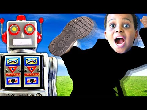 Thumbnail: SCARY ROBOT vs Shiloh And Shasha - Twin Robots GONE WRONG! - Onyx Kids