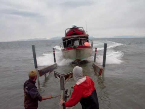 Alaska fishing boat - no dock needed -  Ninilchik, AK