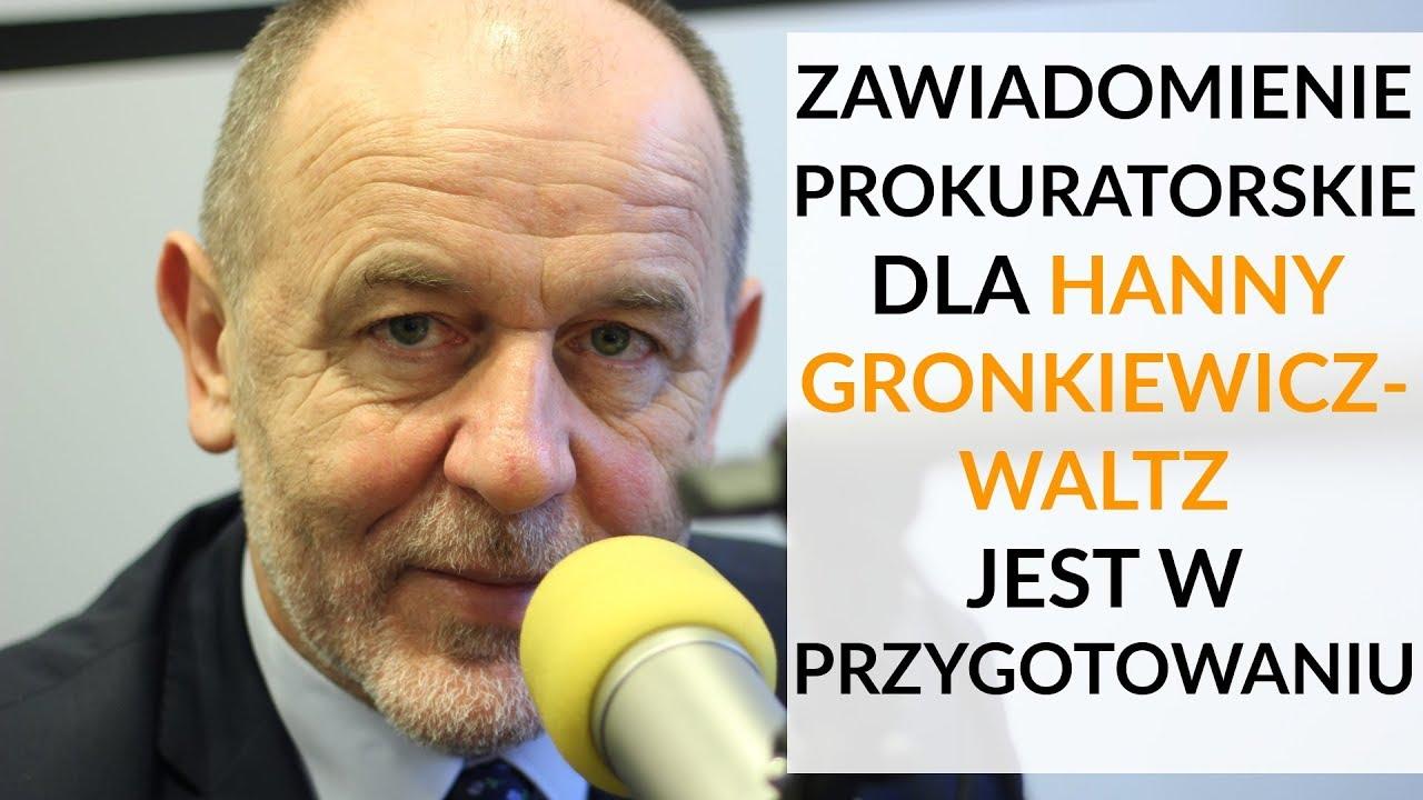 Mosiński u Gadowskiego: Zawiadomienie prokuratorskie dla HGW jest w przygotowaniu