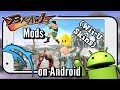 Super Smash Bros. Wii U on Android!? - Brawl Mods on Android! [Dolphin] (Smash Wii U Skins!)