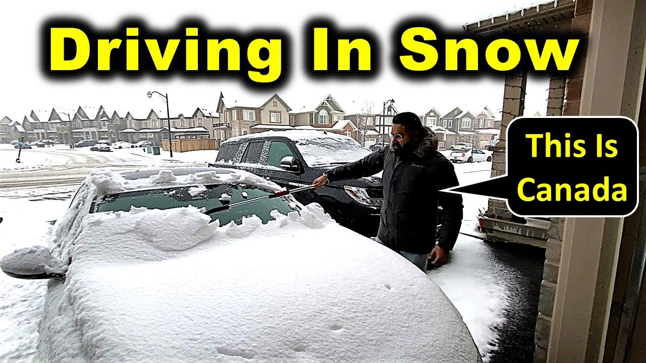 10 Things You Must Have Before Driving In Canadian Snow Storm 😲 | Winter Driving Tips| Canada Couple