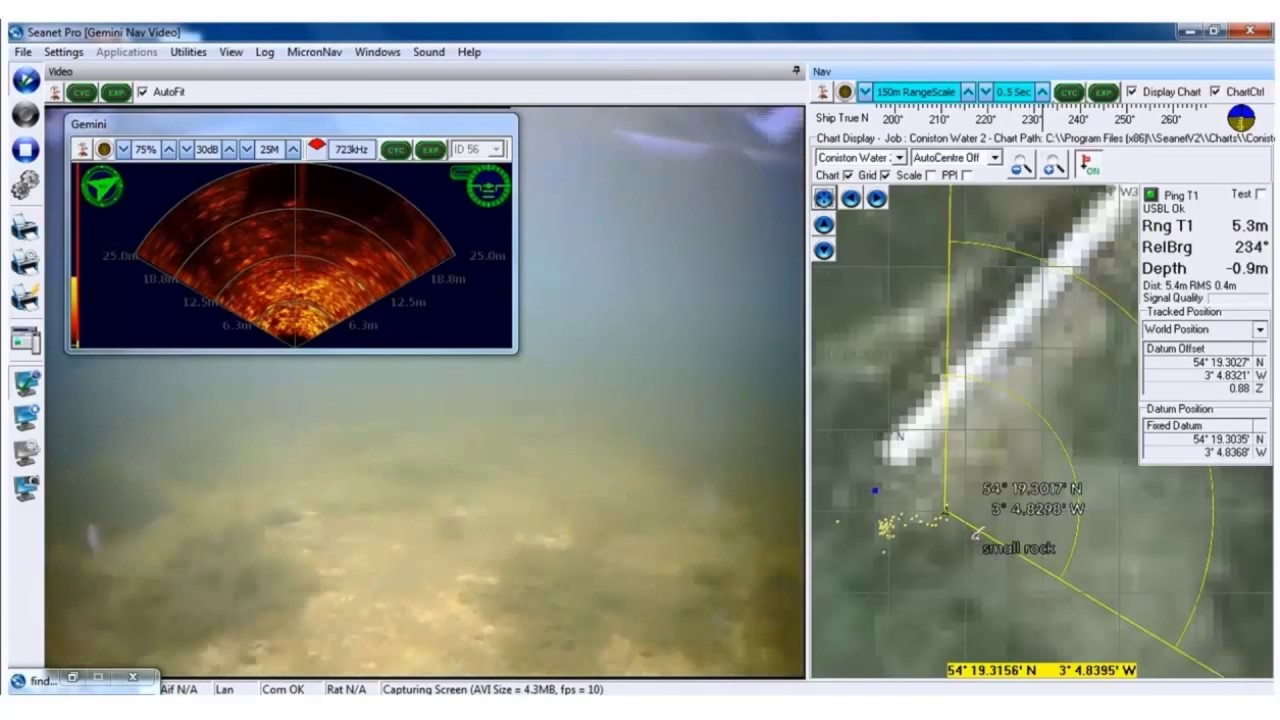 Using Sonar-Equipped ROVs & Drones For Low-Visibility Diving