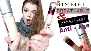 Co Kupić na promocji w Rossmannie?  RImmel Breathable, Maybelline Instant Age #048