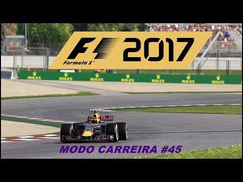 F1 2017 MODO CARREIRA #45 (ESPANHA):PROBLEMAS A VISTA COM A CAIXA DE CÂMBIO?