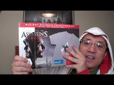 Assassin's Creed Blu-Ray Collectors Set (Walmart Exclusive!)