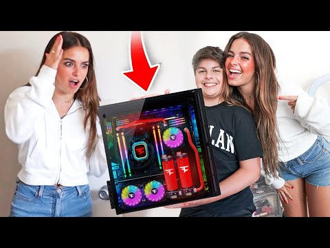 SURPRISING ADDISON RAE WITH $10,000 GIFT!!