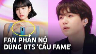 BTS bị thương hiệu Trung Quốc lợi dụng: Từng hợp tác với Lisa (BLACKPINK) nhưng vẫn muốn dùng ...