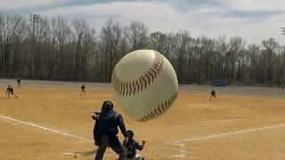 ⚾️ Foul Ball Hits Camera